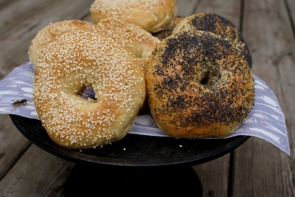 Home made bagels