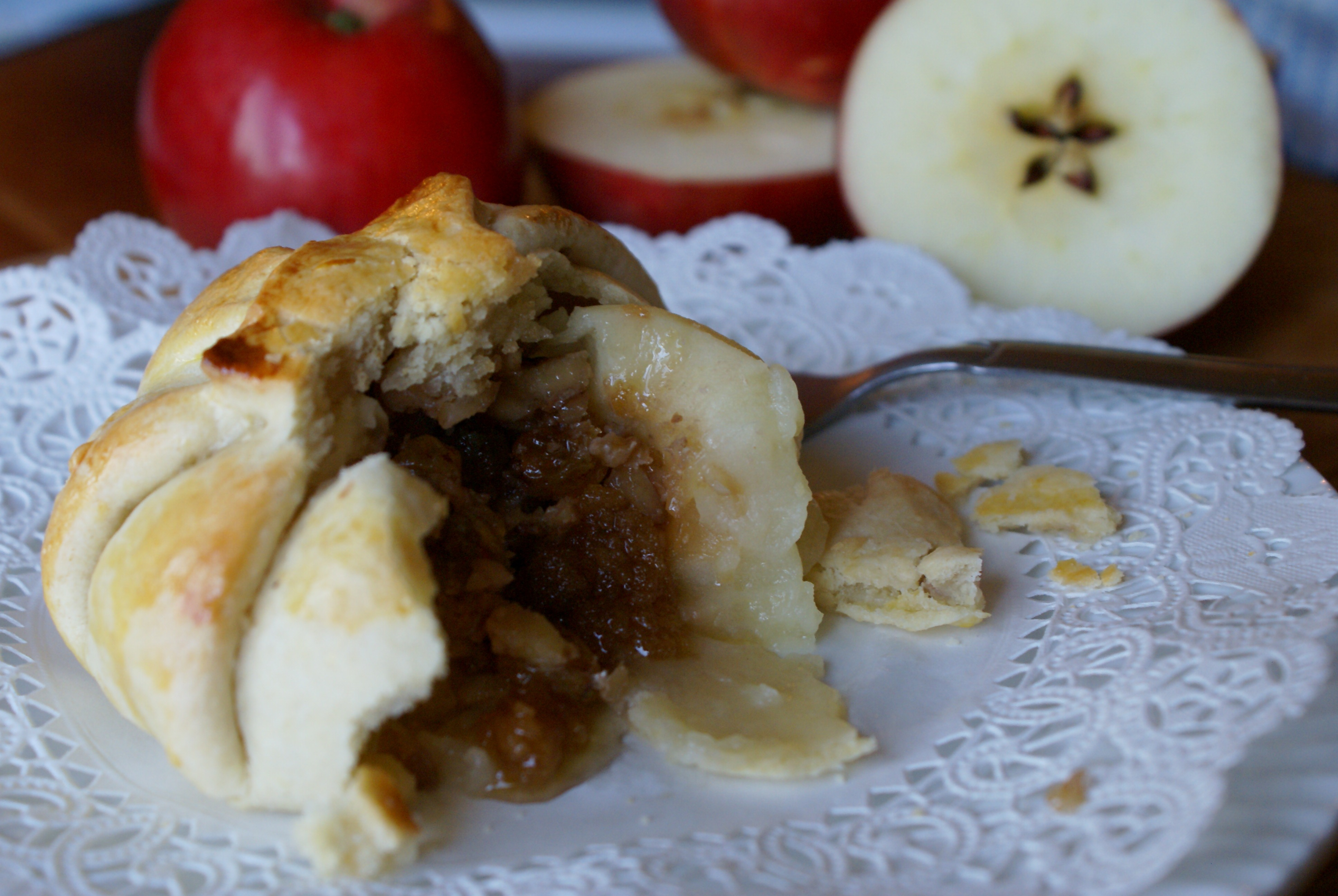 Apple Dumplings with a twist