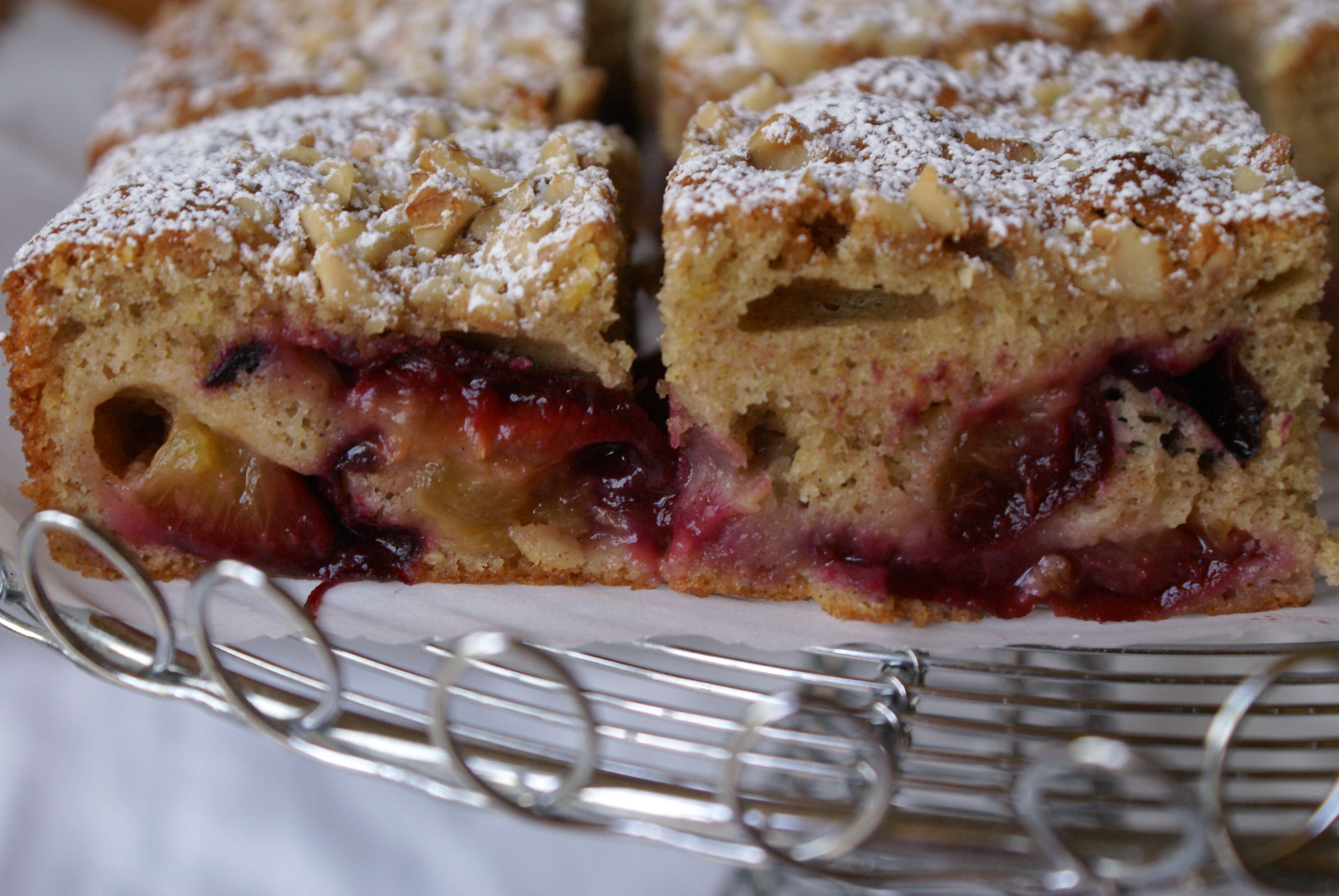 recipe her plum cake is delicious rich and aromatic and the whole ...