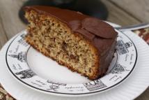 Chocolate-almond cake