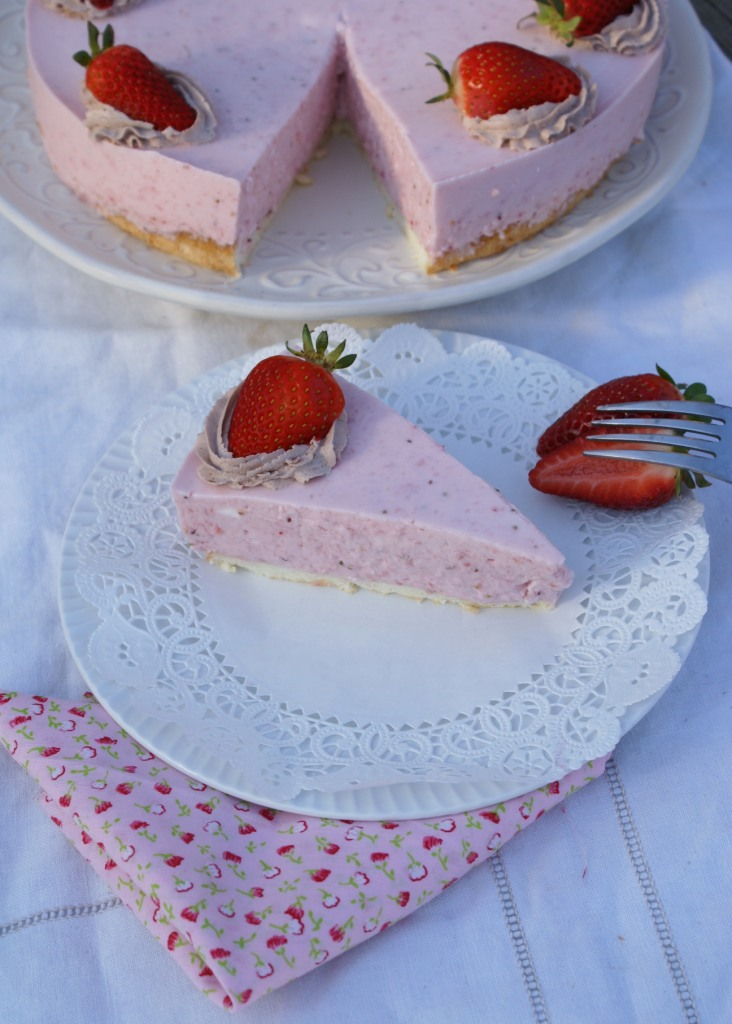 Strawberry Yogurt Cake Printable recipe