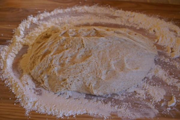 Honey-Wheat dough