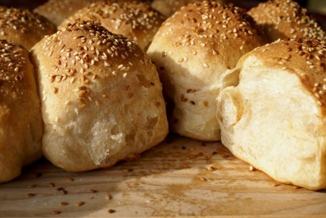 Honey-Wheat rolls from scratch