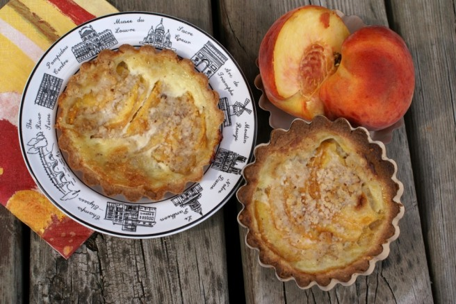 Peach Tarteletts