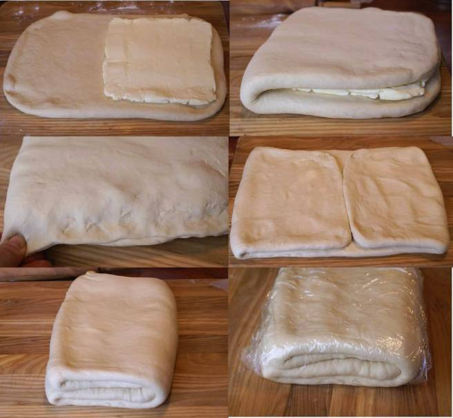 Croissant preparation 1