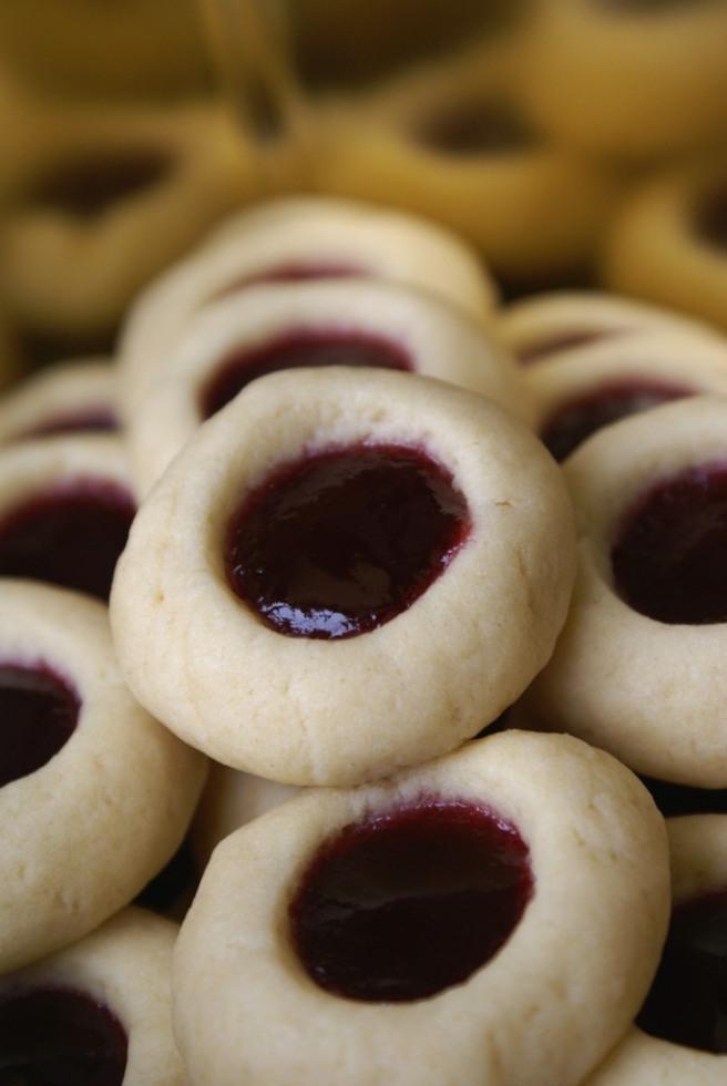 Cream Cheese Thumbprint Cookies