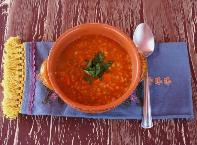 Tarhana soup - trahana