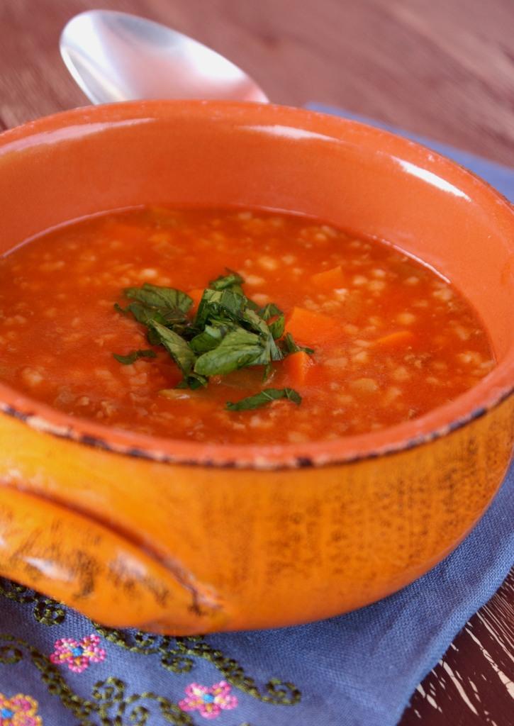 Tarhana Soup Sour Dough Soup