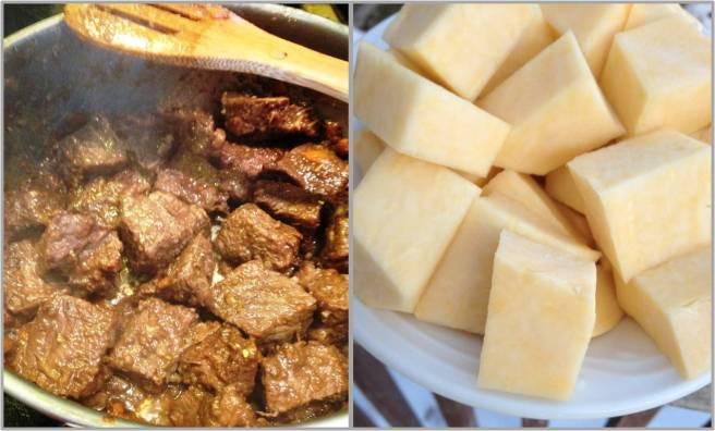 Beef stew preparation 3