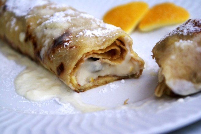 Cream Cheese Crepes